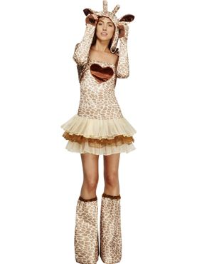 Adult Fever Giraffe Costume Thumbnail