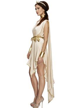 Adult Fever Goddess Costume - Back View