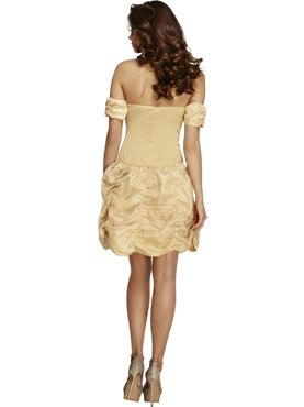 Adult Fever Golden Princess Costume - Side View