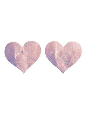 Fever Irridescent Heart Nipple Pasties