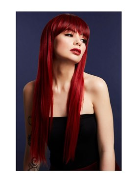 Fever Jessica Wig True Blend Ruby Red