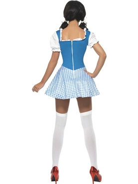 Adult Kansas Cutie Dorothy Costume - Side View