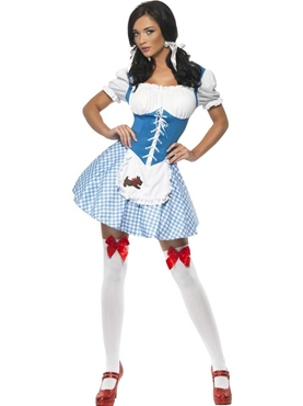 Adult Kansas Cutie Dorothy Costume