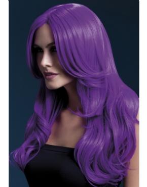 Fever Khloe Wig Neon Purple