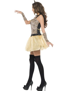 Adult Fever Kitten Gleam Costume - Back View