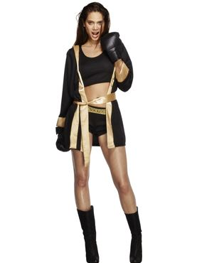 Adult Fever Knockout Costume Couples Costume