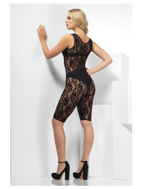 Fever Lace Unitard - Back View