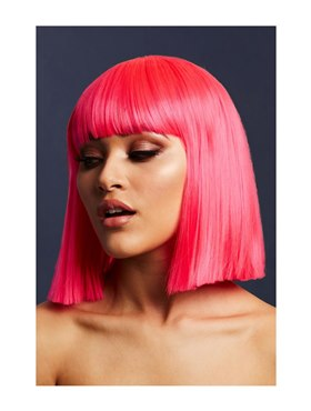 Fever Lola Wig Neon Pink