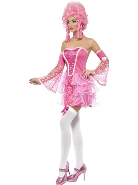 Adult Fever Marie Antoinette Costume - Side View