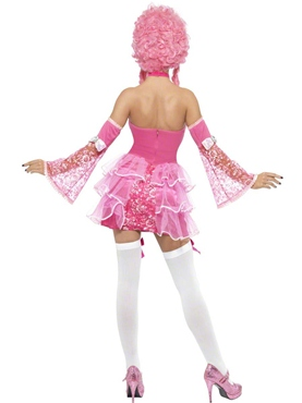 Adult Fever Marie Antoinette Costume - Back View