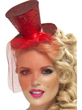Fever Mini Red Top Hat