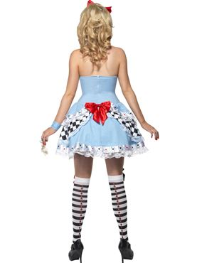 Adult Fever Miss Alice Costume - Side View