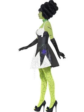 Adult Fever Monster Bride Costume - Back View