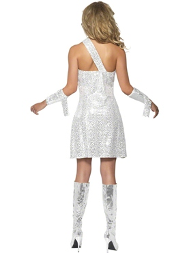 Adult Fever Mummy Bedazzle Costume - Side View