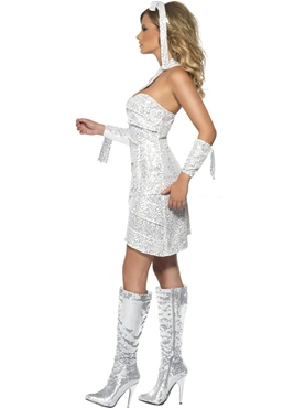Adult Fever Mummy Bedazzle Costume - Back View