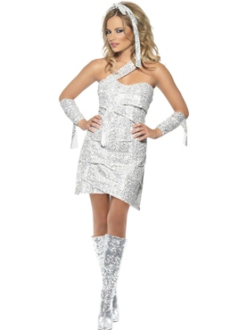 Adult Fever Mummy Bedazzle Costume