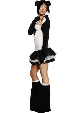 Adult Fever Panda Costume - Back View