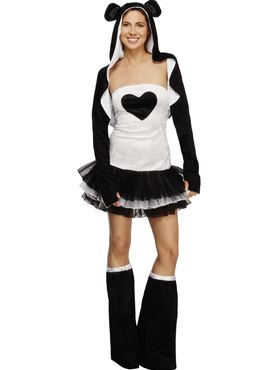 Adult Fever Panda Costume Thumbnail