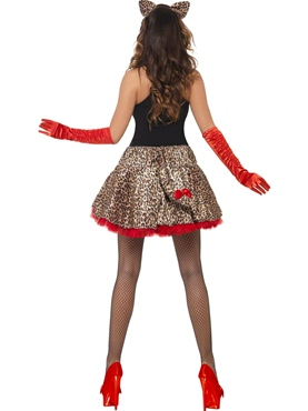 Adult Fever Party Glam Pussy Costume - Side View