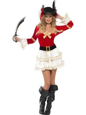 Adult Fever Plentiful Pirate Costume