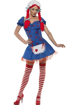 Adult Fever Ragdoll Costume