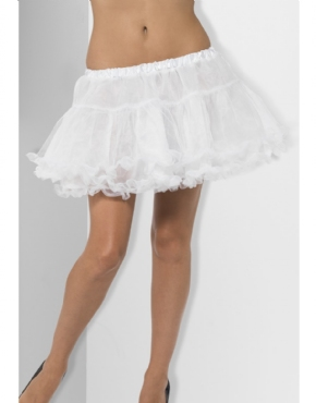 Fever White Petticoat