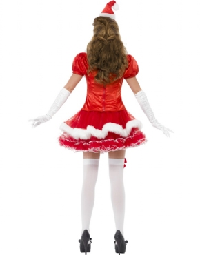 Adult Fever Santa Costume - Side View
