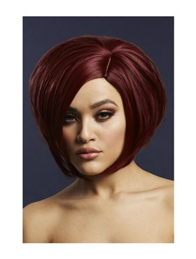 Fever Savanna Wig Deep Red