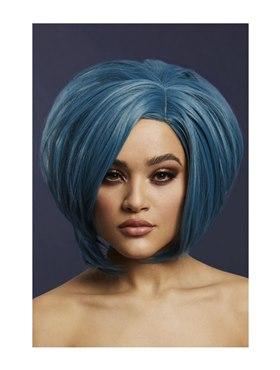 Fever Savanna Wig Petrol Blue