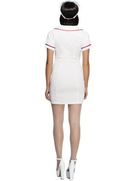 Adult Fever Sexy Nurse Costume - Side View