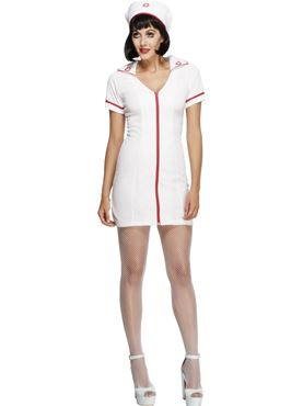 Adult Fever Sexy Nurse Costume