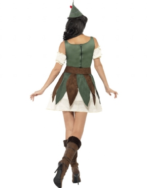 Adult Fever Sexy Outlaw Costume - Side View