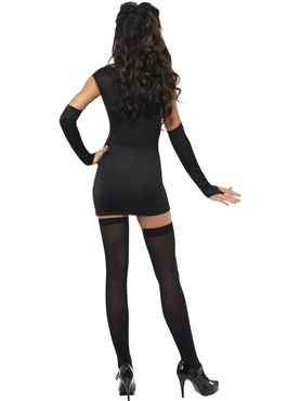 Adult Fever Sexy Skeleton Costume