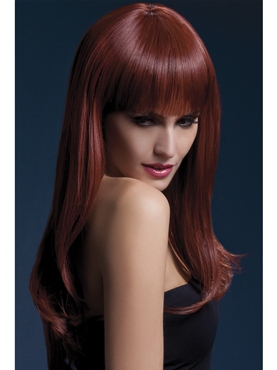 Adult Fever Sienna Auburn Wig