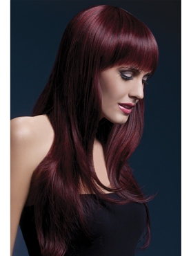 Adult Fever Sienna Black Cherry Wig