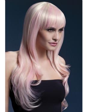 Adult Fever Sienna Pink/Blonde Wig