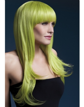 Adult Fever Sienna Pastel Green Wig
