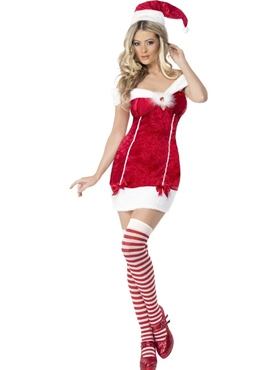 Adult Fever Stocking Filler Costume - Back View