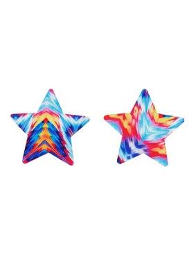 Fever Tie Dye Star Nipple Pasties