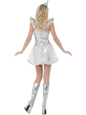 Adult Fever Tin Woman Costume - Side View