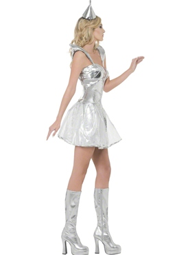 Adult Fever Tin Woman Costume - Back View