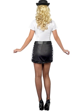 Adult Fever UK Policewoman Costume - Side View