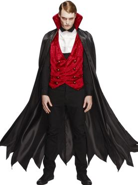 Adult Fever Vampire Costume Thumbnail