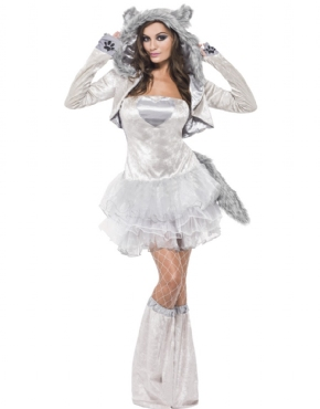 Adult Fever Wolf Costume Thumbnail