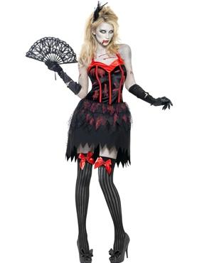 Adult Fever Zombie Burlesque Costume