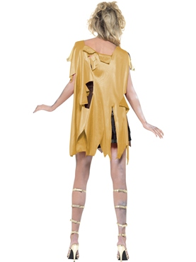 Adult Fever Zombie Gladiator Costume - Side View