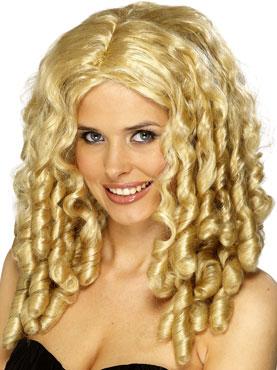 Blonde Film Star Wig