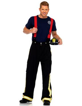 Adult Fire Captain Costume Thumbnail