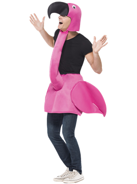 Adult Flamingo Costume Couples Costume