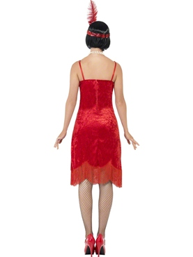 Adult Flapper Shimmy Costume - Side View
